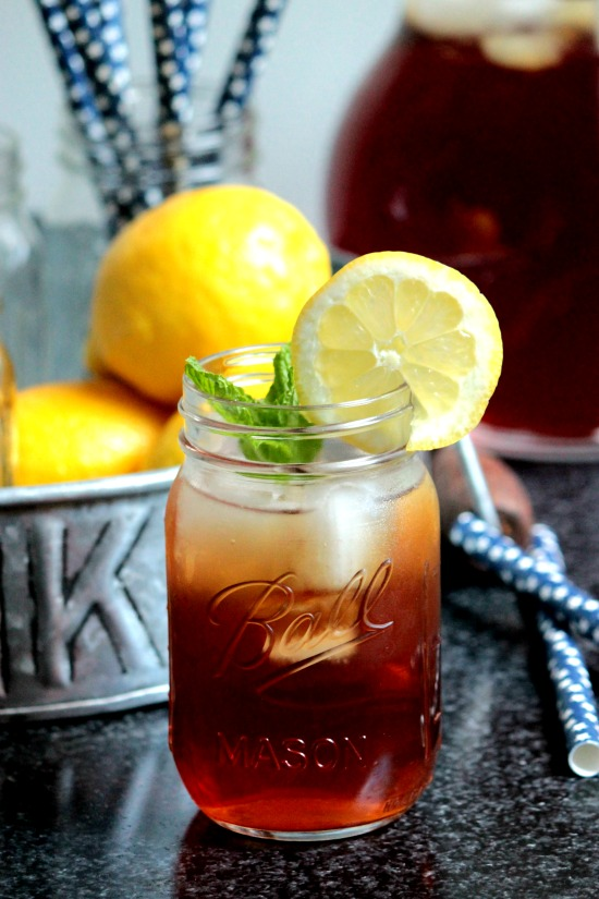 How to make Southern Sweet Tea - Southern Sweet Tea