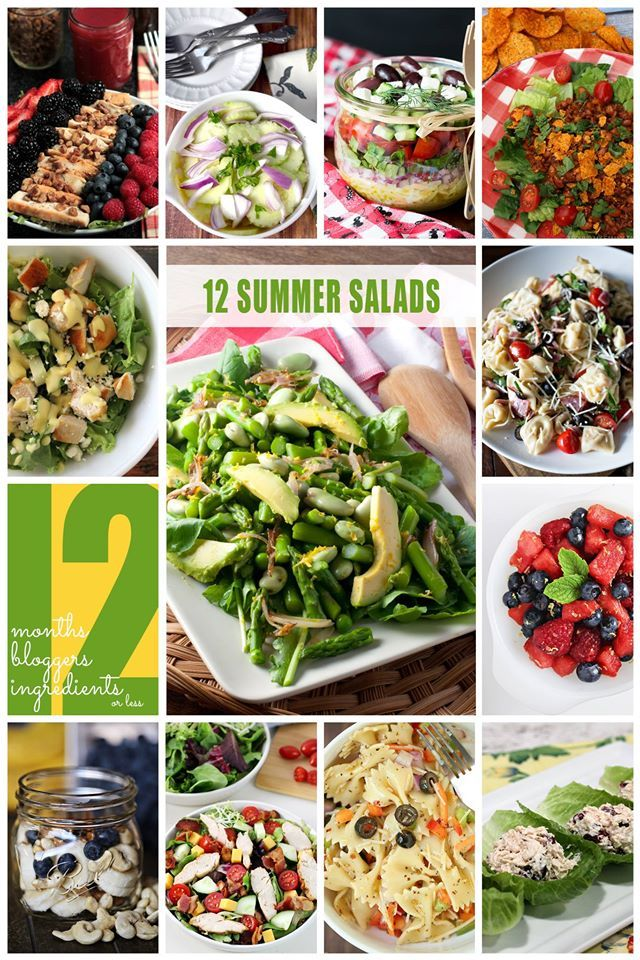 #12bloggers salad recipes