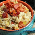 Bacon and Artichoke Risotto