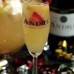 Champagne Sangrias  #EpicWithAndre