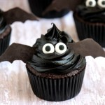 Bat Cupcakes #TheHalloweenProject