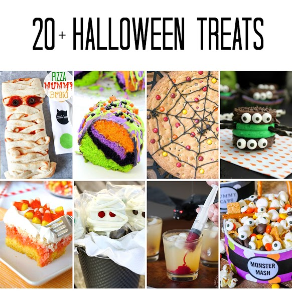 20+ Adorably Spooky Halloween Treats
