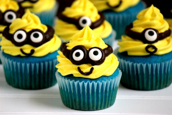 minion cupcakes big bear s wife