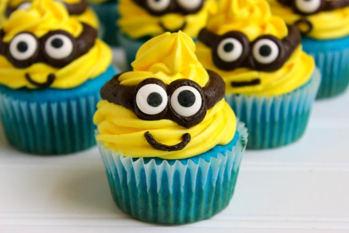 Cupcakes Made From Yellow Cake Mix