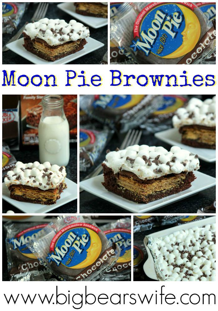 Moon Pie Brownies