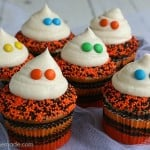 Easy Ghost Cupcakes from Hoosierhomemade.com