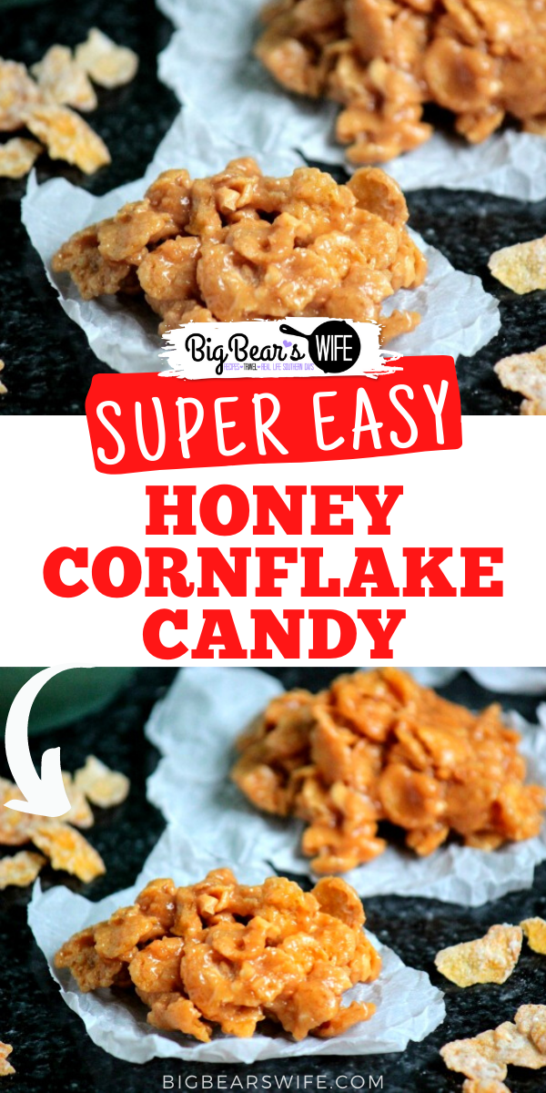 Honey Cornflake Candy - A classic southern candy with crunchy peanut butter and a sweet honey twist.