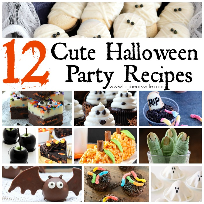 12 Cute Halloween Party Recipes