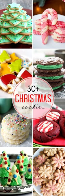 30+ Christmas Cookies for a Cookie Party Exchange