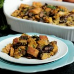 Mushroom, Toasted Fennel and Sausage Stuffing