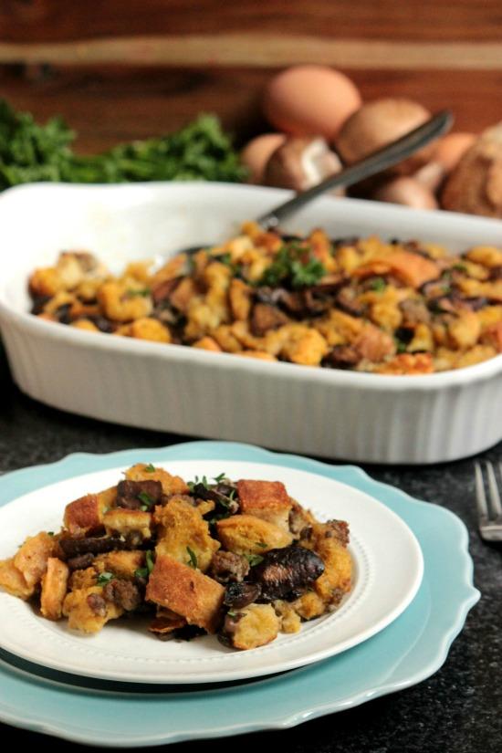 Mushroom, Toasted Fennel and Sausage Stuffing - Big Bear's ...