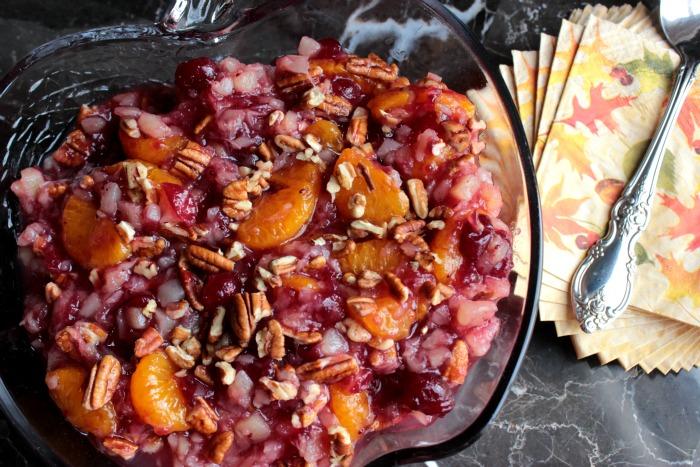 Pineapple Orange Cranberry Sauce