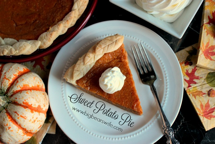 Southern Sweet Potato Pie