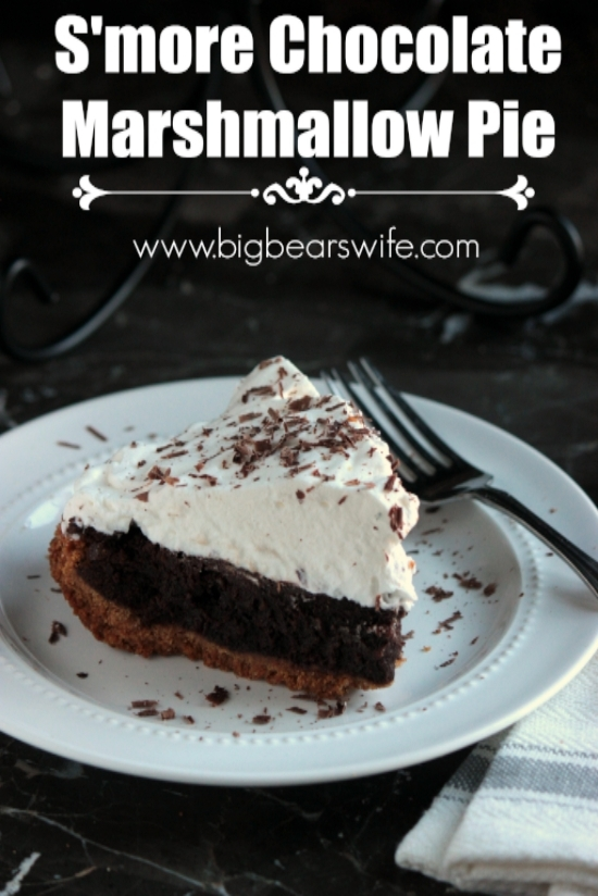 S'more Chocolate Marshmallow Pie
