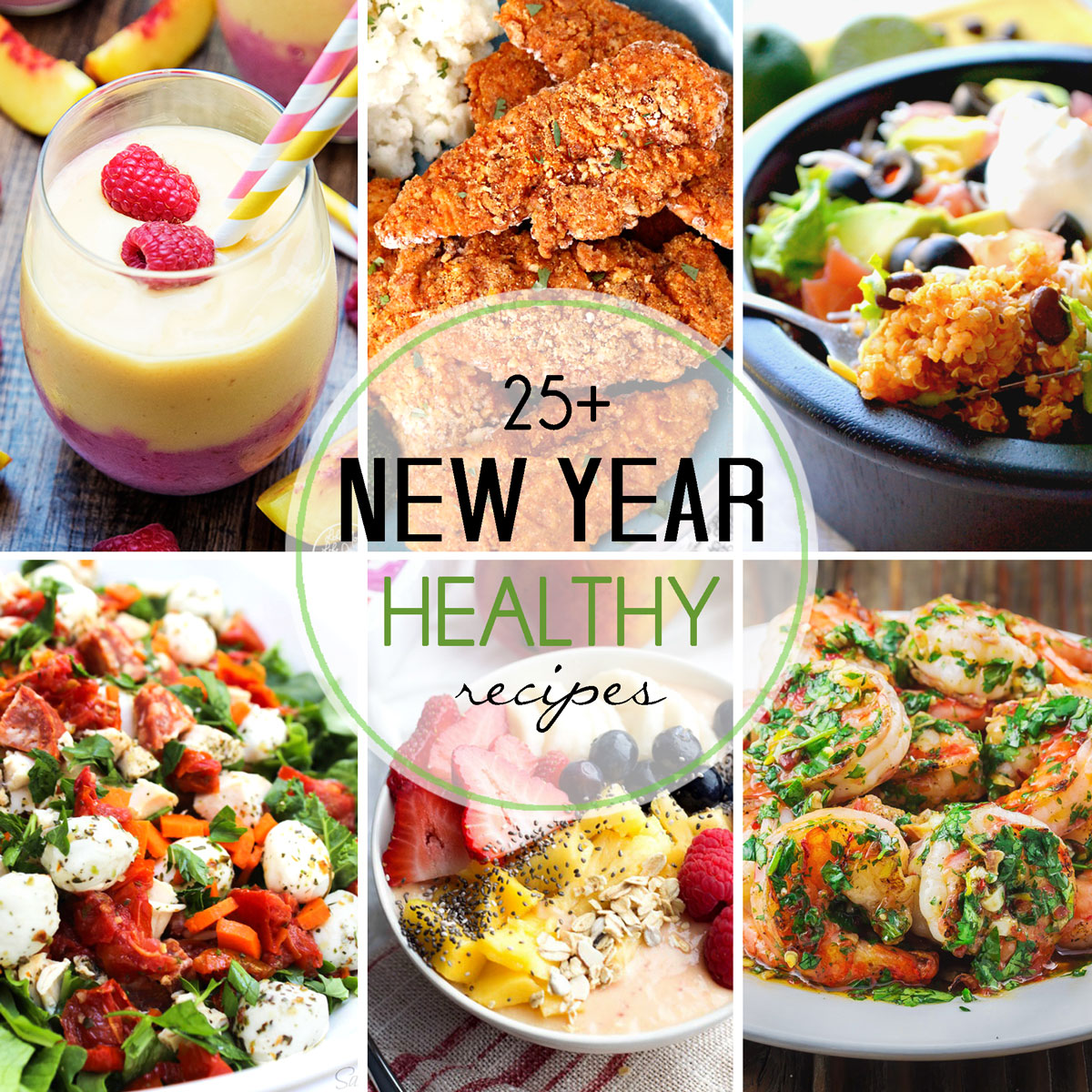 Healthy New Year Recipes