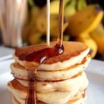 Banana Nut Silver Dollar Pancakes #12bloggers