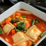 5 Ingredient Ravioli Soup