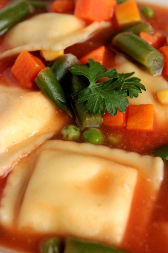 5 Ingredient Ravioli Soups