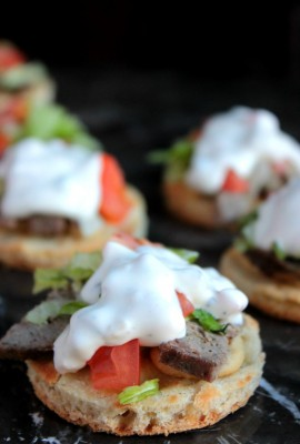 Ranch Gyro Sliders