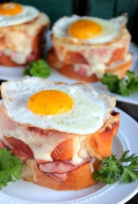 An Easy Croque Madame Recipe
