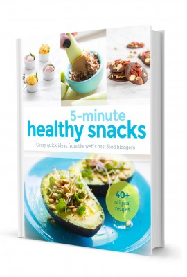 5-Minute Healthy Snack E-Cookbook