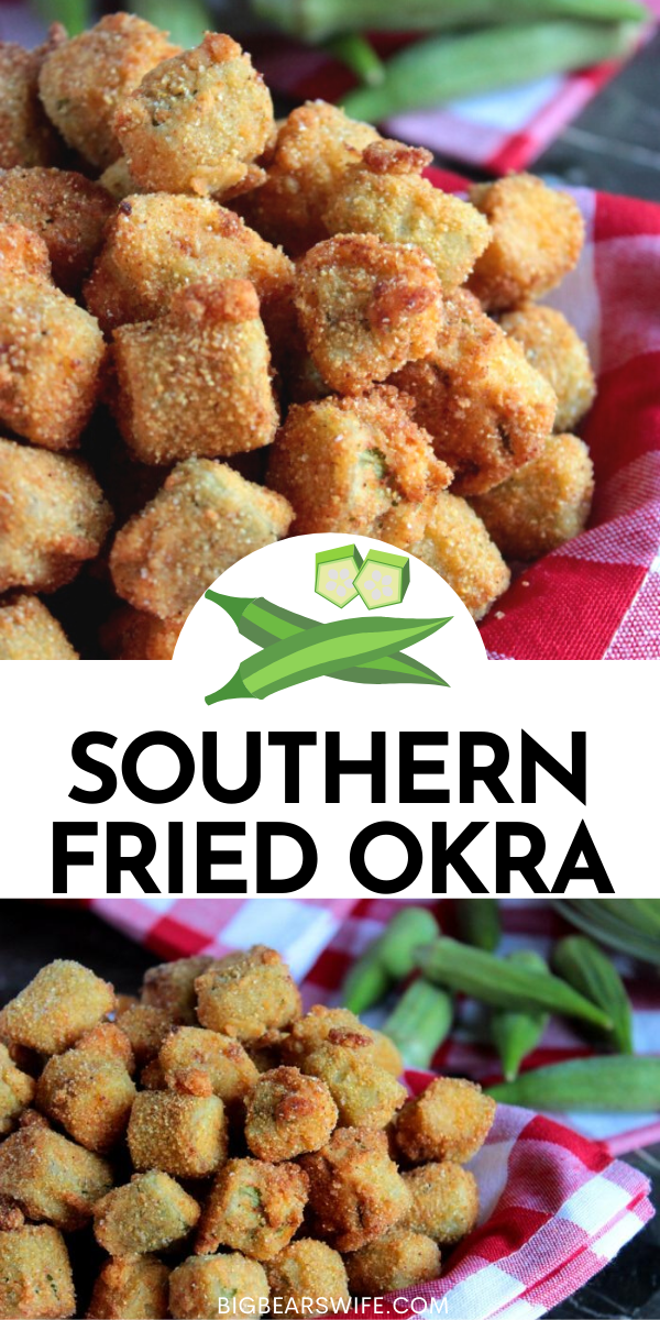 Ifyou're going to splurge on fried food, make sure it's worth it! Serve thisSouthern Fried Okra along side your favorite burger, brisket or fried chicken!