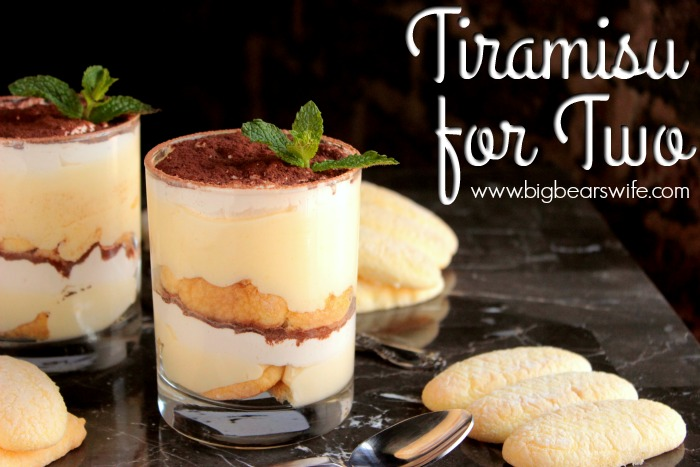 Tiramisu for Two