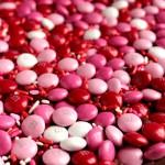 Three Ingredient Valentine's Day M&M Fudge #GalentinesDayParty