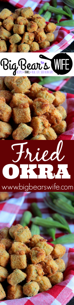 Homemade Southern Fried Okra!