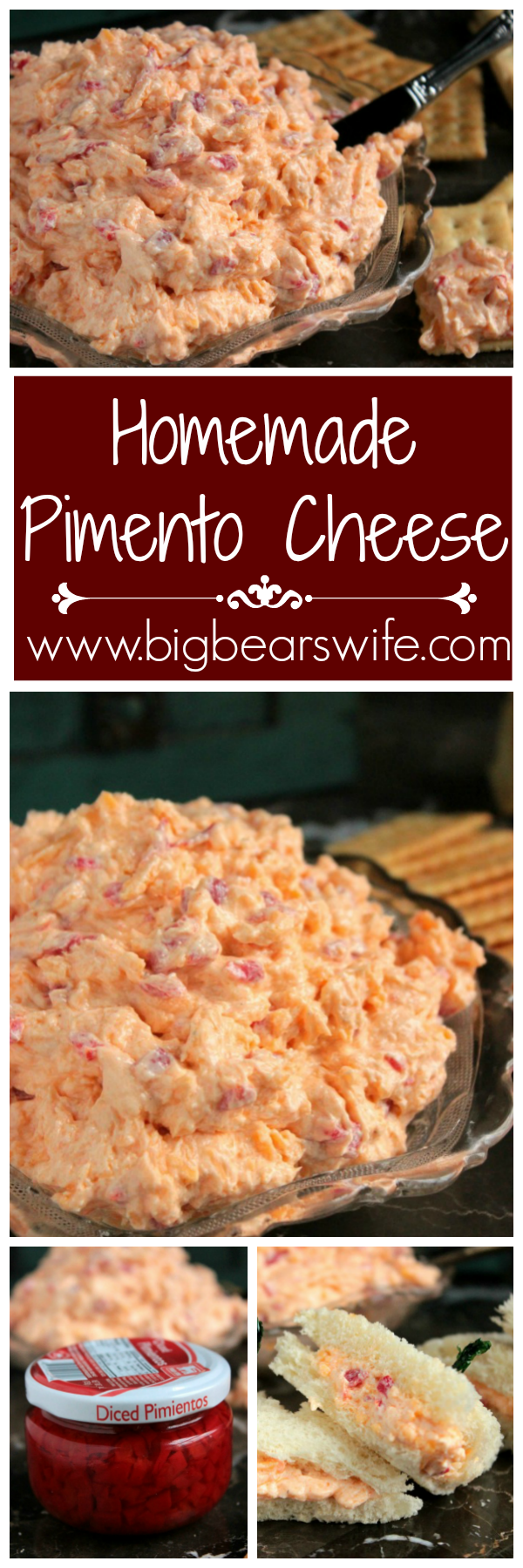 Homemade Pimento Cheese - Every good southern woman should have a homemade Pimento Cheese recipe in her back pocket! With the recipe from my grandmother's recipe box and a few tests in the kitchen, I made some of the best we've ever had!