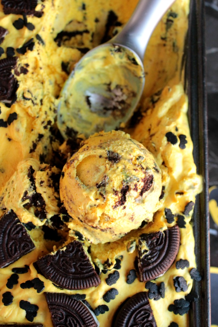 Batman Ice Cream - No Ice Cream Machine Needed!!