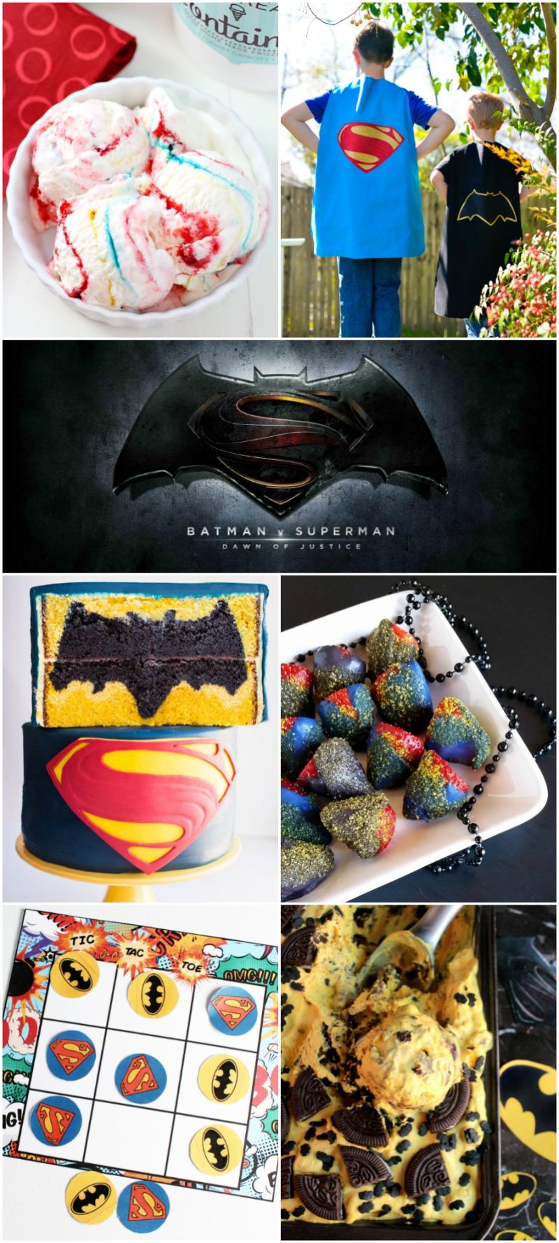 Batman Ice Cream - Banana and Chocolate Cookie Ice Cream {No Ice Cream Machine Needed} #BatmanvsSuperman