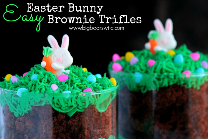 Bunny Brownie Trifles (1)
