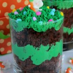Bunny Brownie Trifles