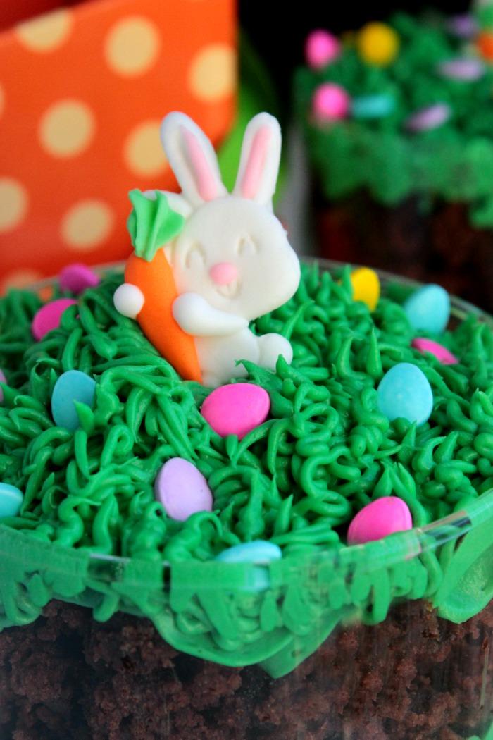 Bunny Brownie Trifles (12)
