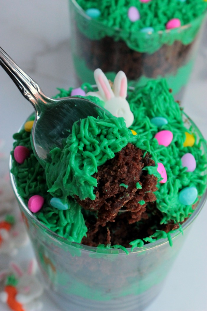 Bunny Brownie Trifles (7)