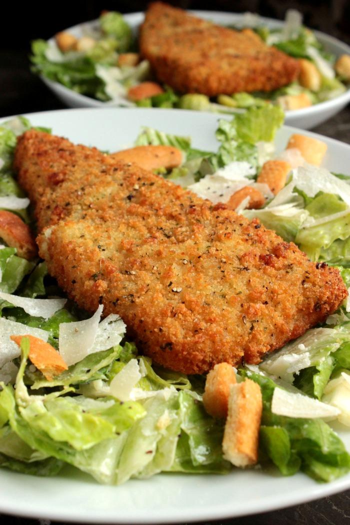 Caesar Cod Salad