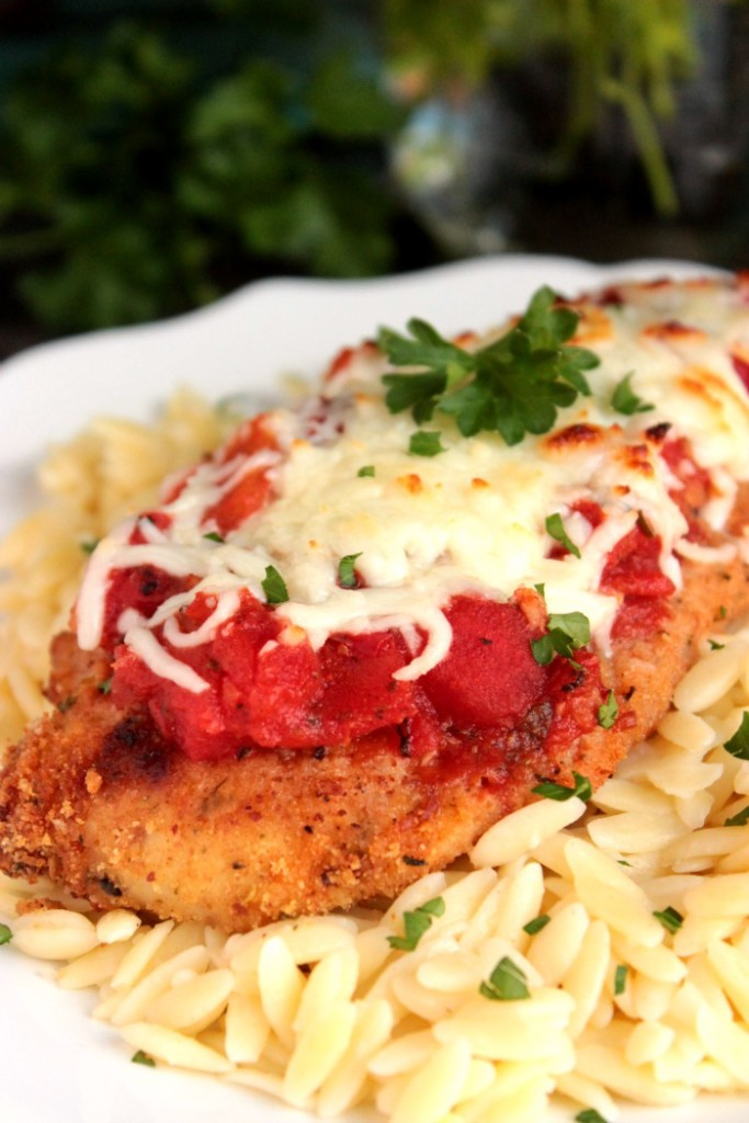 Easy Weeknight Baked Chicken Parmesan - Big Bear's Wfie