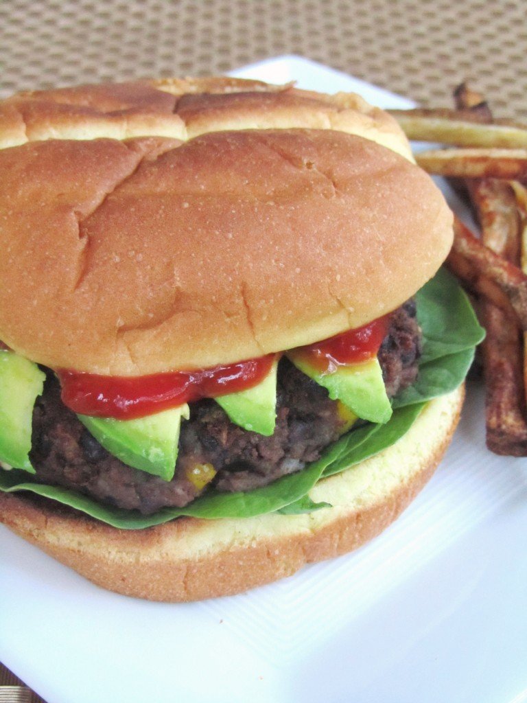 Spicy Black Bean Burgers - The Spiffy Cookie