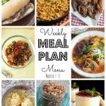 Weekly Meal Plan – March 7th – March 13th