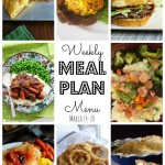 Weekly Meal Plan – March 14th – March 20th