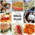 Weekly Meal Plan – March 21st – March 27th