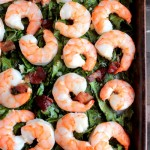 Whole Shrimp with Bacon and Collards (11)