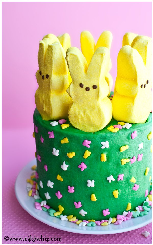 Bunny Peep Cake from Cake Whiz peeps cake 3