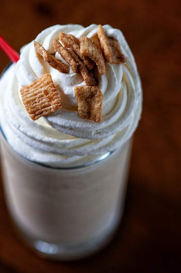 Boozy Cinnamon Toast Crunch Milkshake from Culinary Concoctions by Peabody