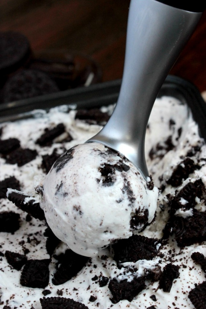 Cookies and Cream Ice Cream – No Machine Required