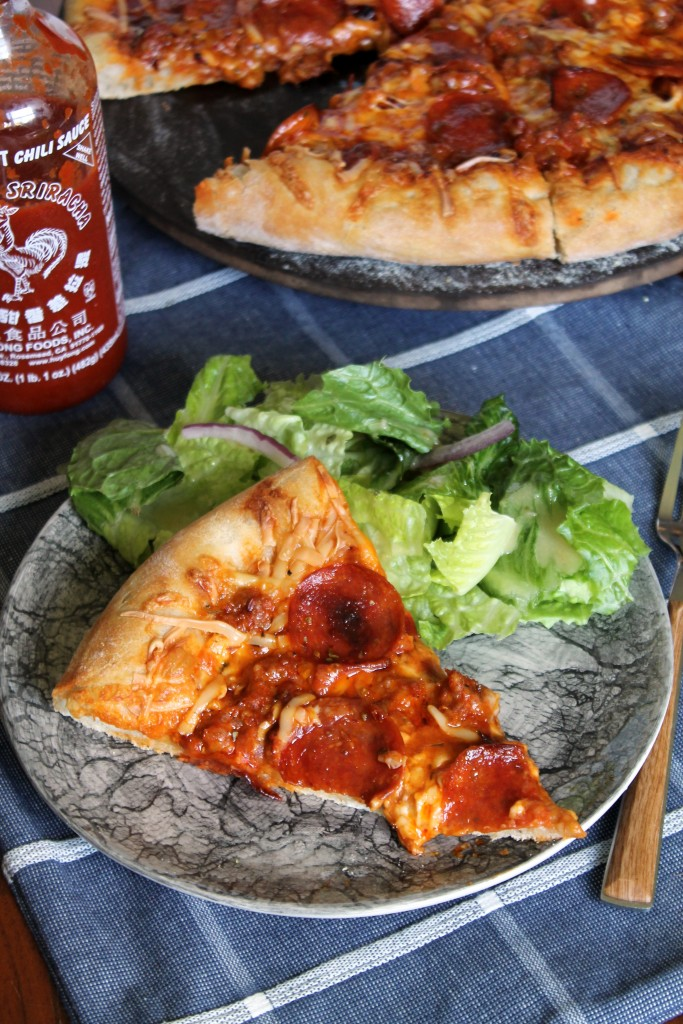 Sriracha-Jack Pizza - The Spiffy Cookie