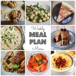 Weekly Meal Plan – April 4th – April 10th