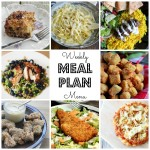 Weekly Meal Plan – April 11th – April 17th