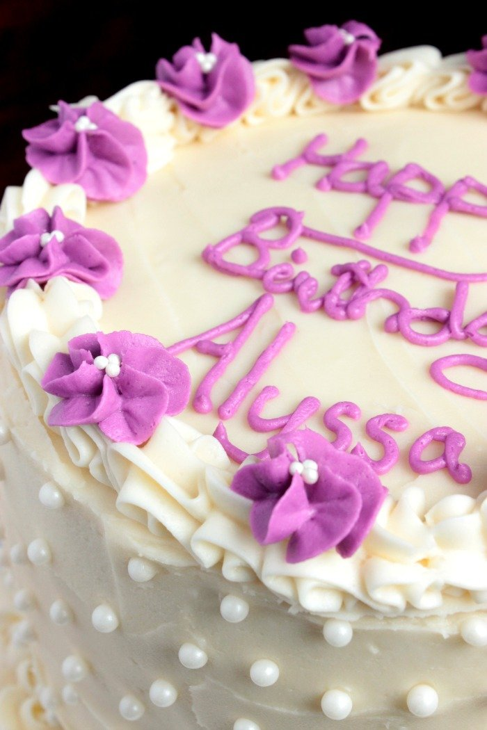 White Chocolate Birthday Cake (4)